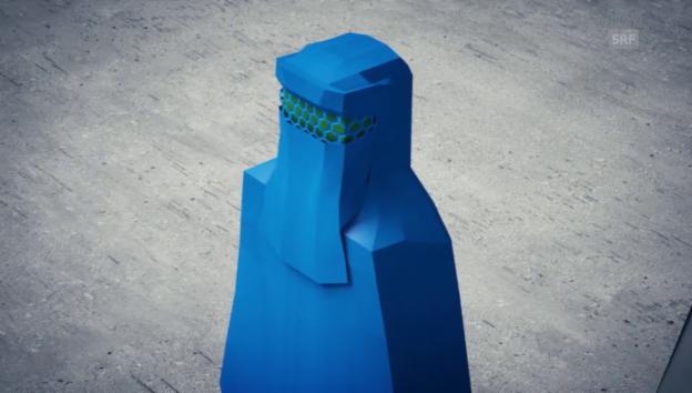 Video ««Arena»: Muslimische Kopfbedeckungen» abspielen