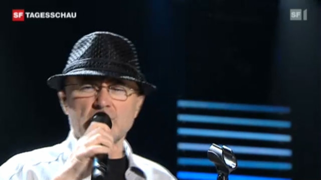 Video «Phil Collins live in Montreux» abspielen