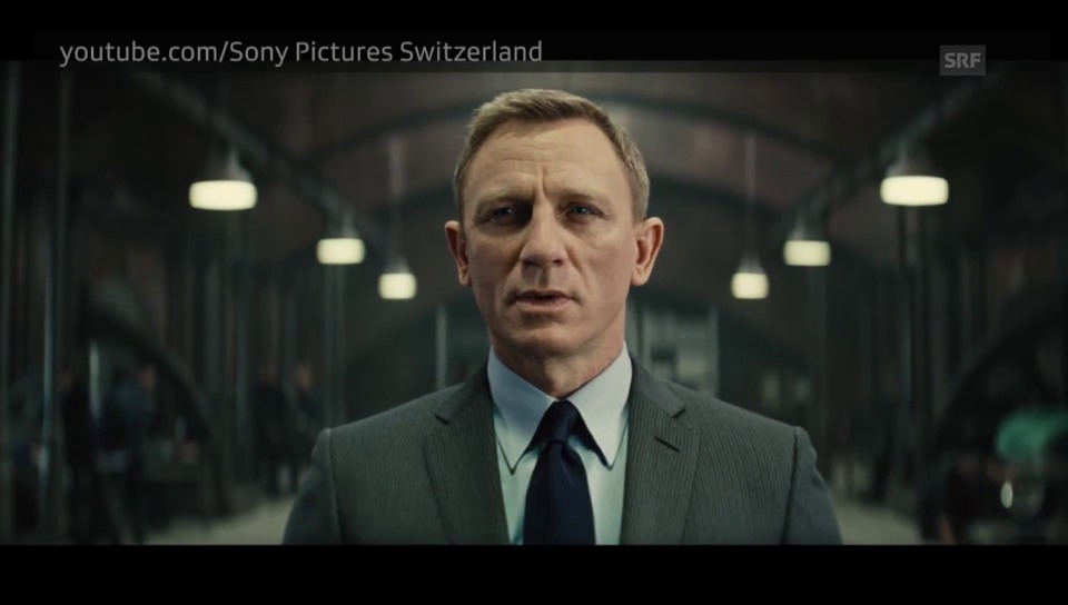 Bond-Trailer «Spectre»