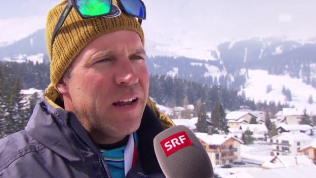 Video «SRF-Skiexperte Michael Bont über Lara Gut» abspielen