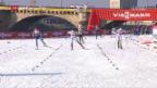 Video «Langlauf: Der Teamsprint in Dresden» abspielen