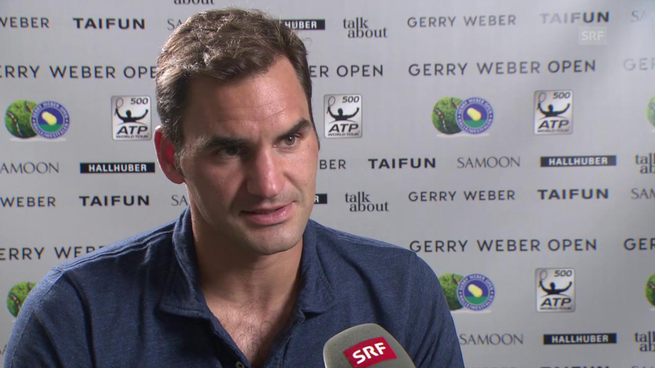 Federer: «Er hat mich beeindruckt»