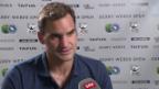 Video «Federer: «Er hat mich beeindruckt»» abspielen