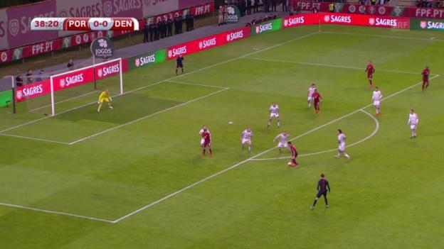 Video «Fussball: EM-Qualifikation, Portugal-Dänemark» abspielen