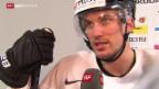 Video «Eishockey: Die Schweiz und Roman Josi vor dem WM-Start» abspielen