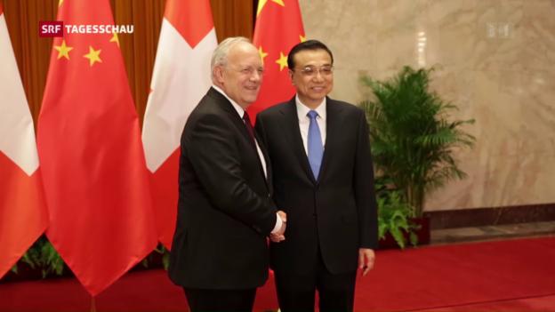 Video «Der Bundespräsident besucht China» abspielen