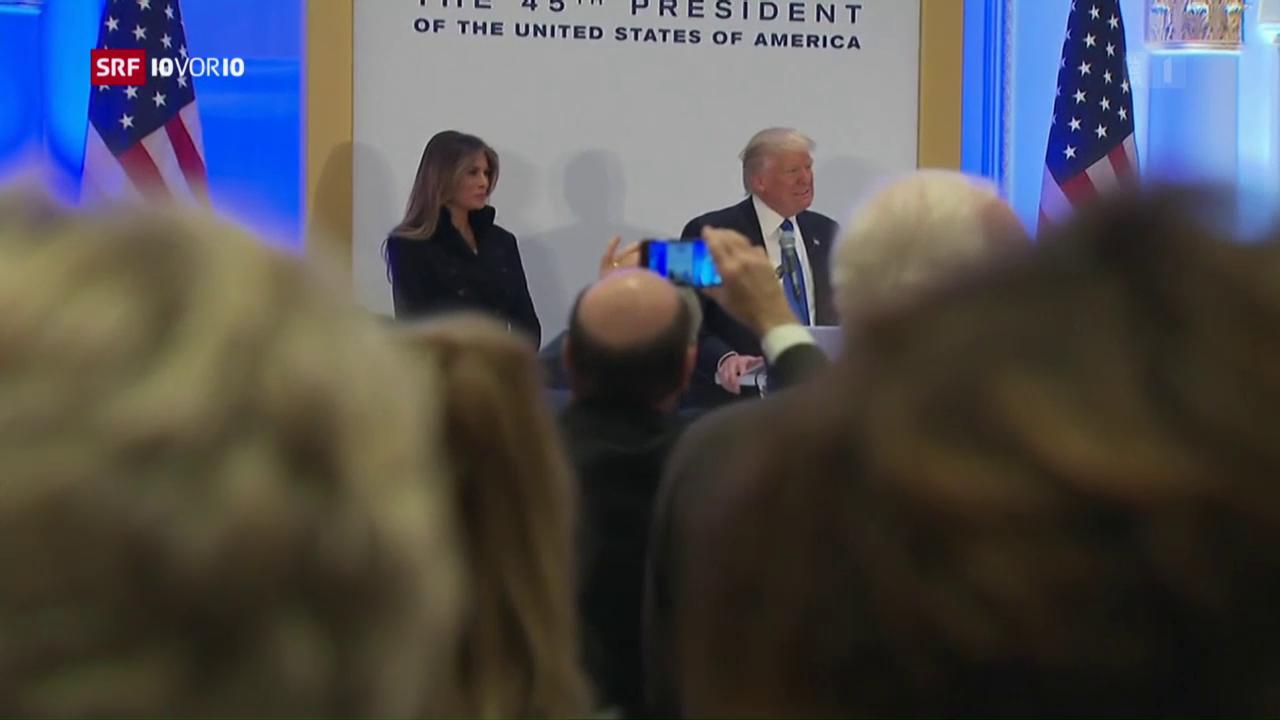 Washington bereitet sich auf Donald Trums Amtseinführung vor