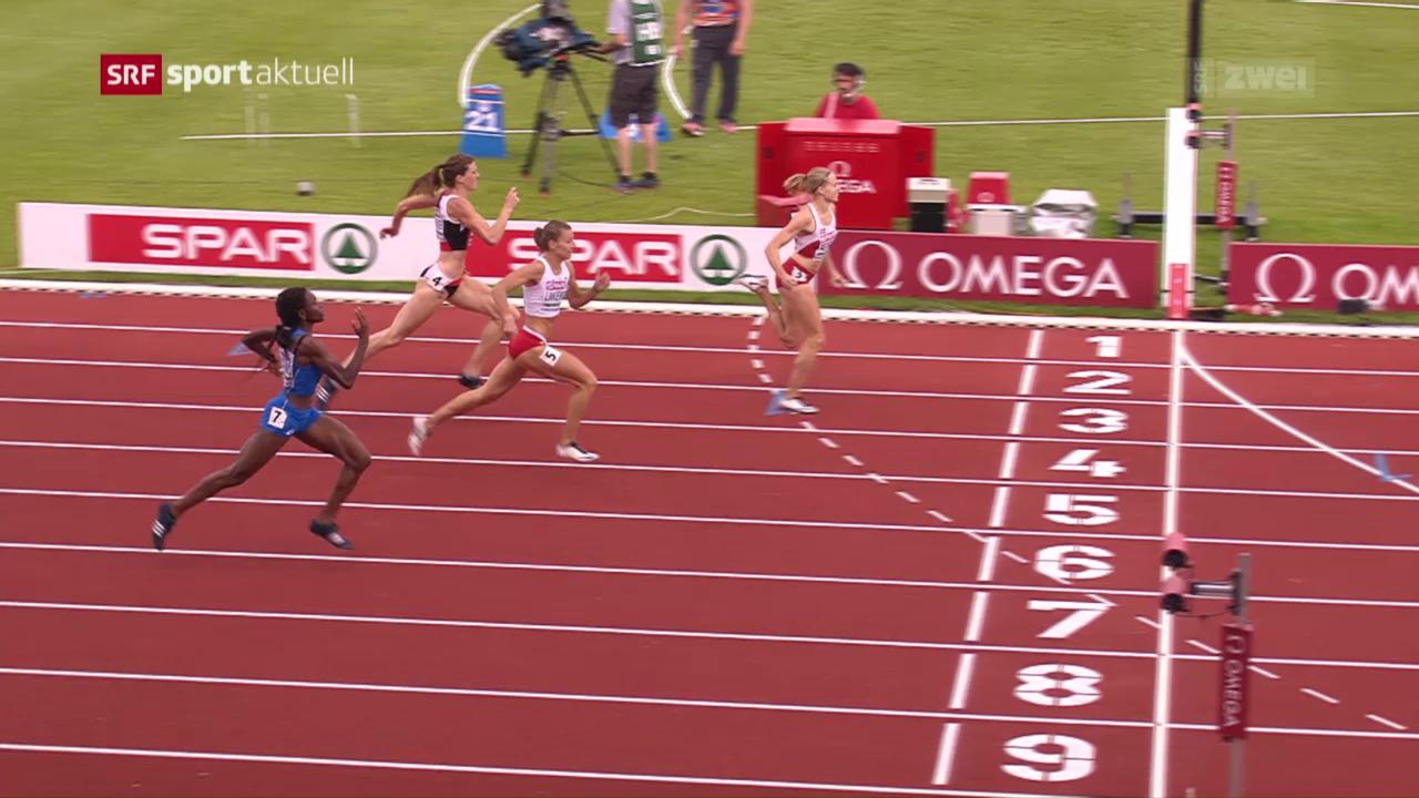 Sprunger holt über 400 m Hürden Bronze