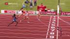 Video «Sprunger holt über 400 m Hürden Bronze» abspielen