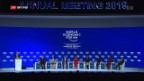 Video «FOKUS: Eröffnung 49. WEF in Davos» abspielen