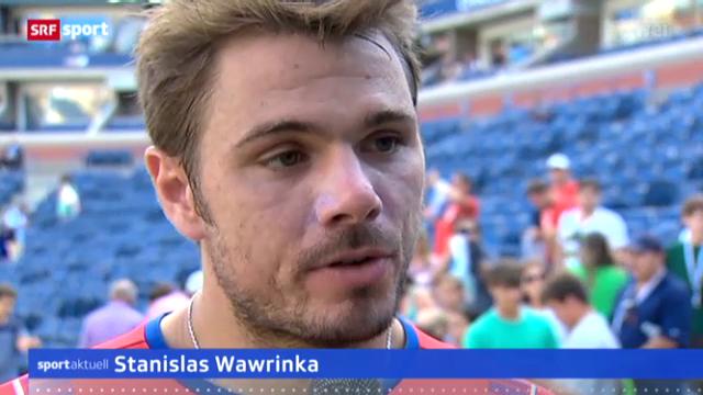 US Open: Stanislas Wawrinka in New York