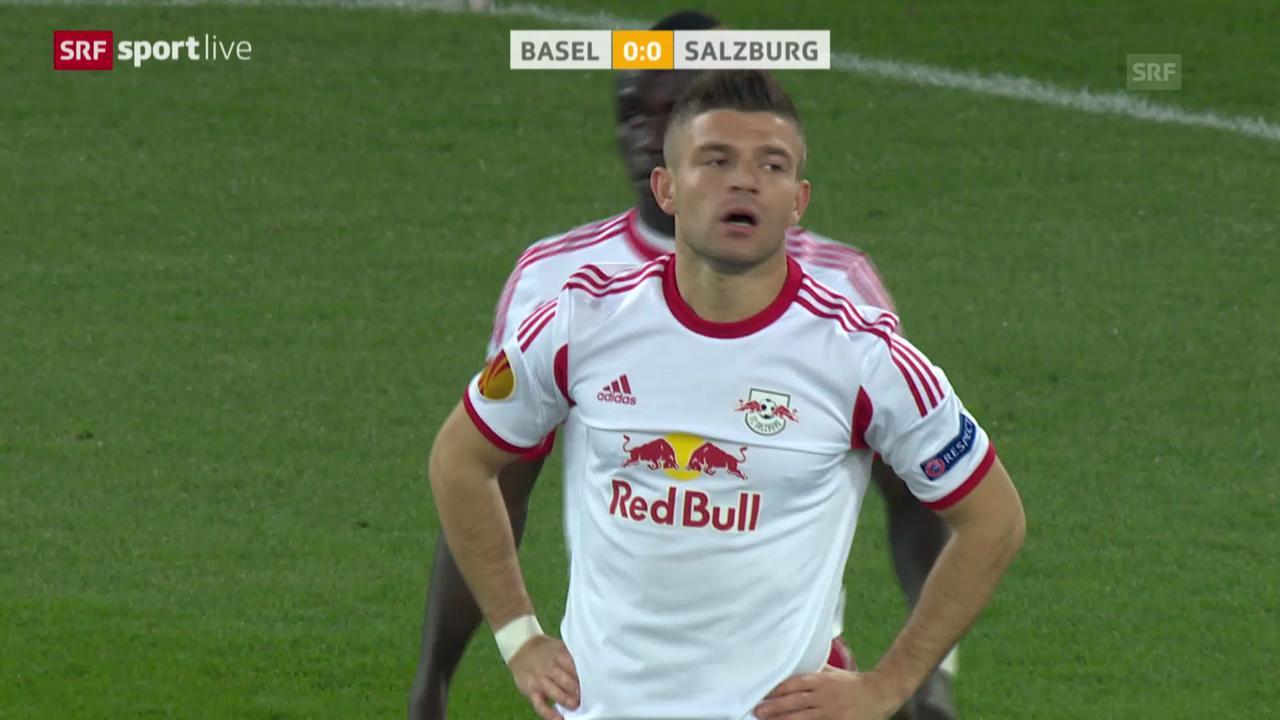 Fussball: Europa League, Basel - Salzburg («sportlive», 13.03.2014)