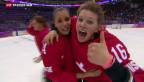 Video «Schweizer Eishockey-Frauen gewinnen Bronze» abspielen