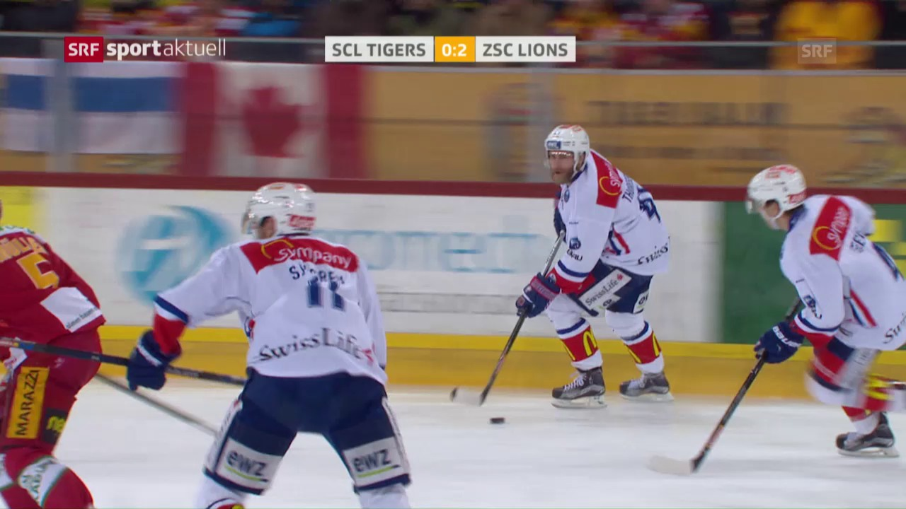 SCL Tigers - ZSC Lions: Das 2. Drittel
