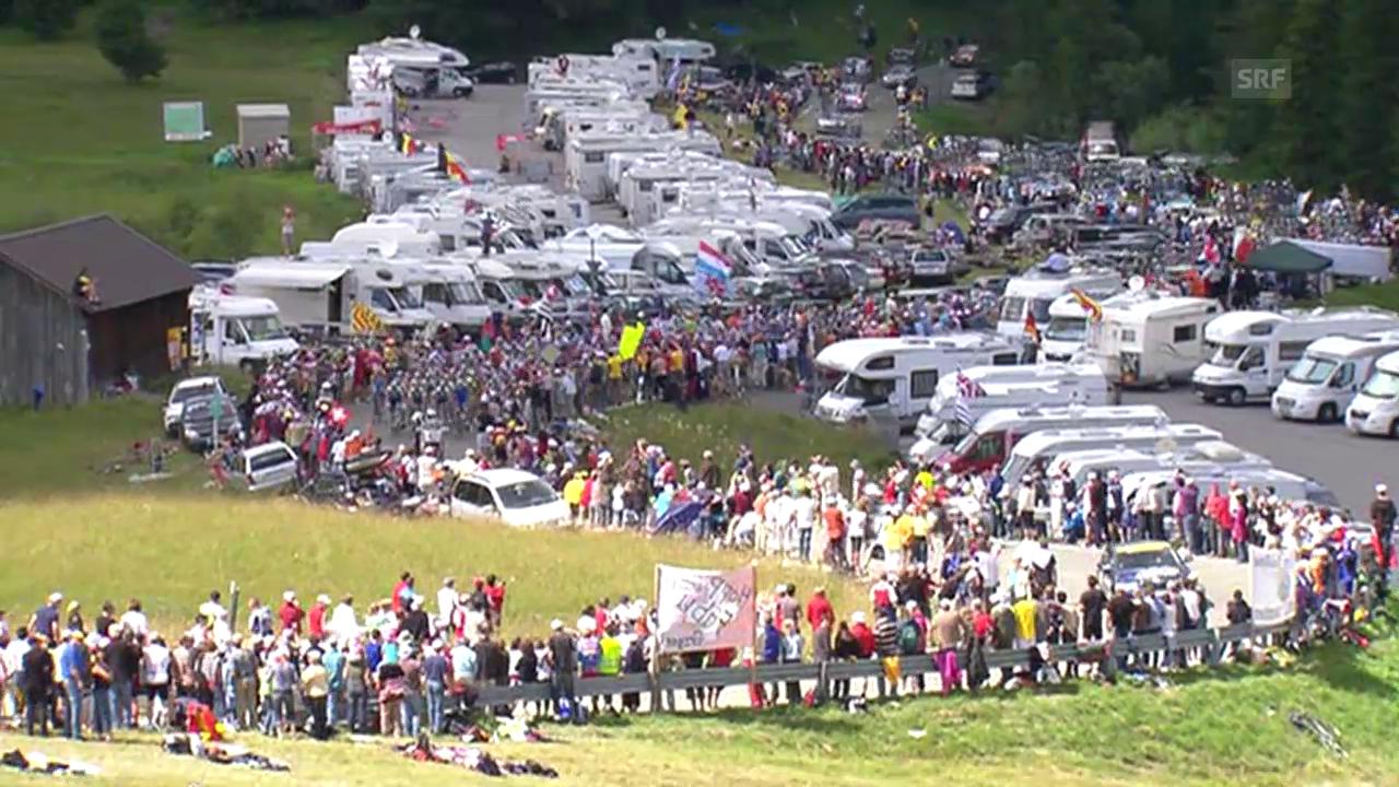 Rad: Schweizer Etappenorte der Tour de France