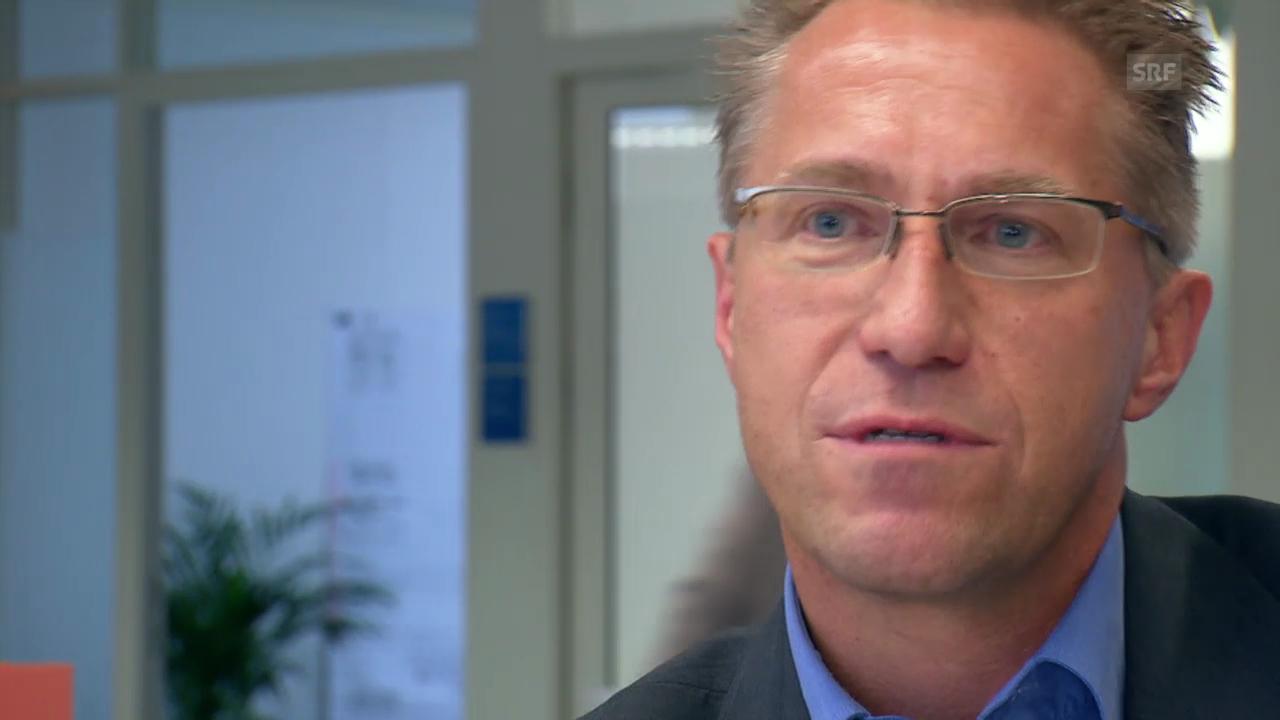 Projektleiter Bruno Geiger zu Herausforderungen
