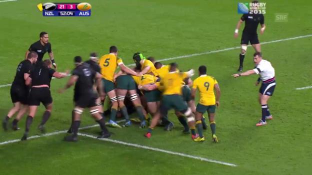Video «Rugby: Highlights WM-Final» abspielen