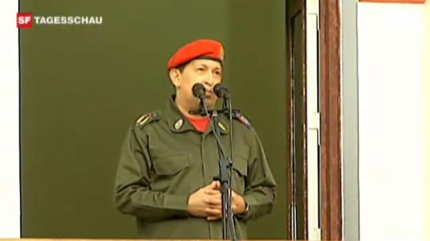 Video «Hugo Chavez kehrt nach Venezuela zurück» abspielen