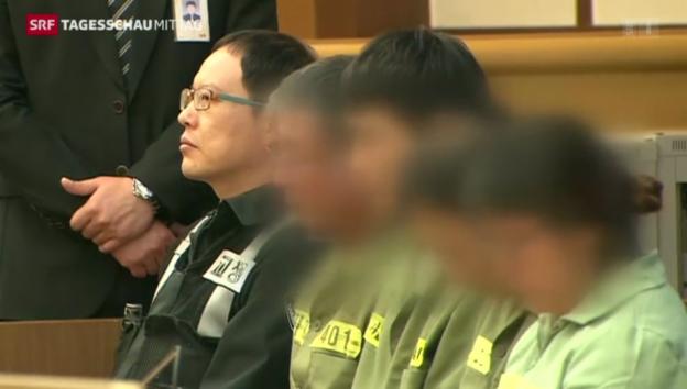 Video «36 Jahre Haft für «Sewol-Kapitän»» abspielen