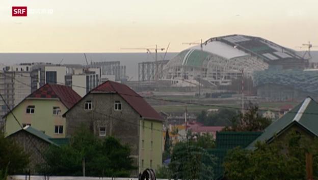 Video «Bauen in Sotschi» abspielen