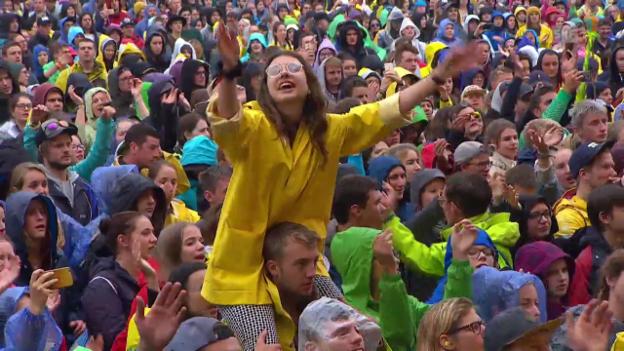 Video «Nemo - «Himalaya» OpenAir St. Gallen» abspielen