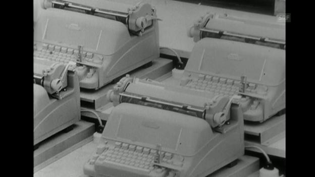 Video «Sektor Waren und Werte (14.8.1964)» abspielen