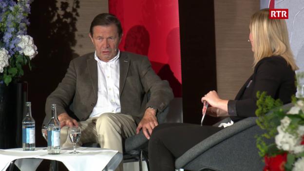 Laschar ir video «Discurs 2 cun Franz Steinegger»