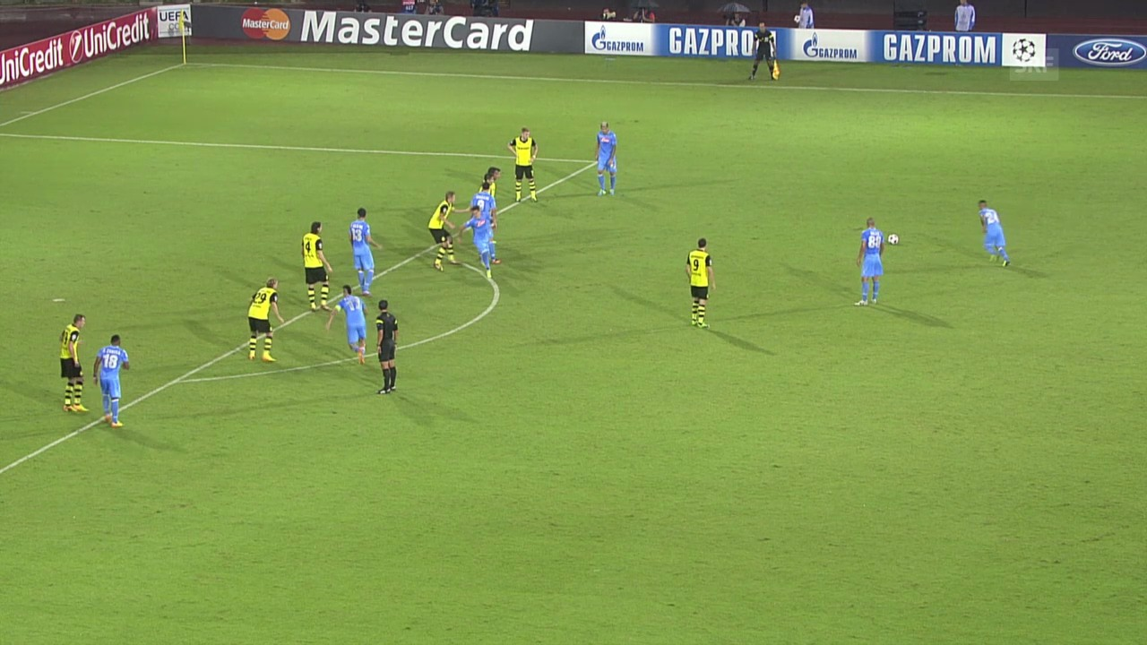 Fussball: Napoli - Dortmund
