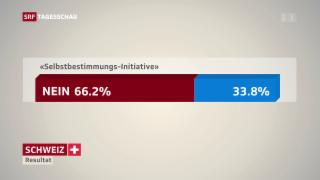 Video «Schweizer Recht statt fremde Richter – daraus wird nichts» abspielen