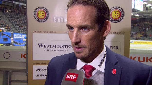 Video «Patrick Fischer nach dem Debakel beim Deutschland Cup» abspielen