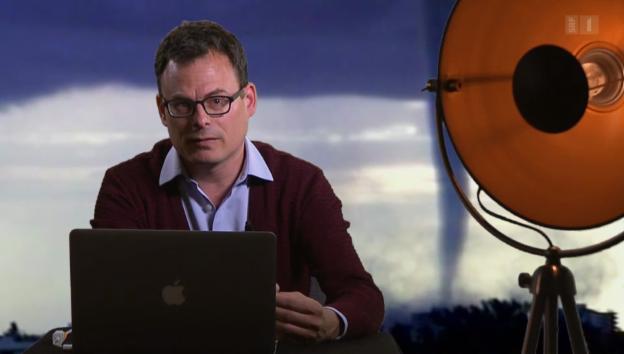 Video «Daniel Graf über den Shitstorm als Korrekturinstrument» abspielen