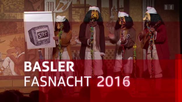 Video «Basler Fasnacht 2016: Querschnitt» abspielen