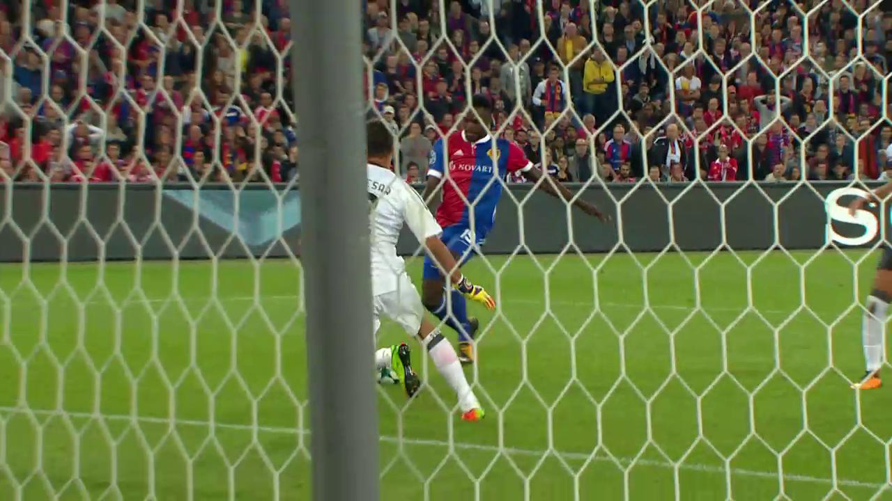 Basels 5:0-Gala gegen Benfica