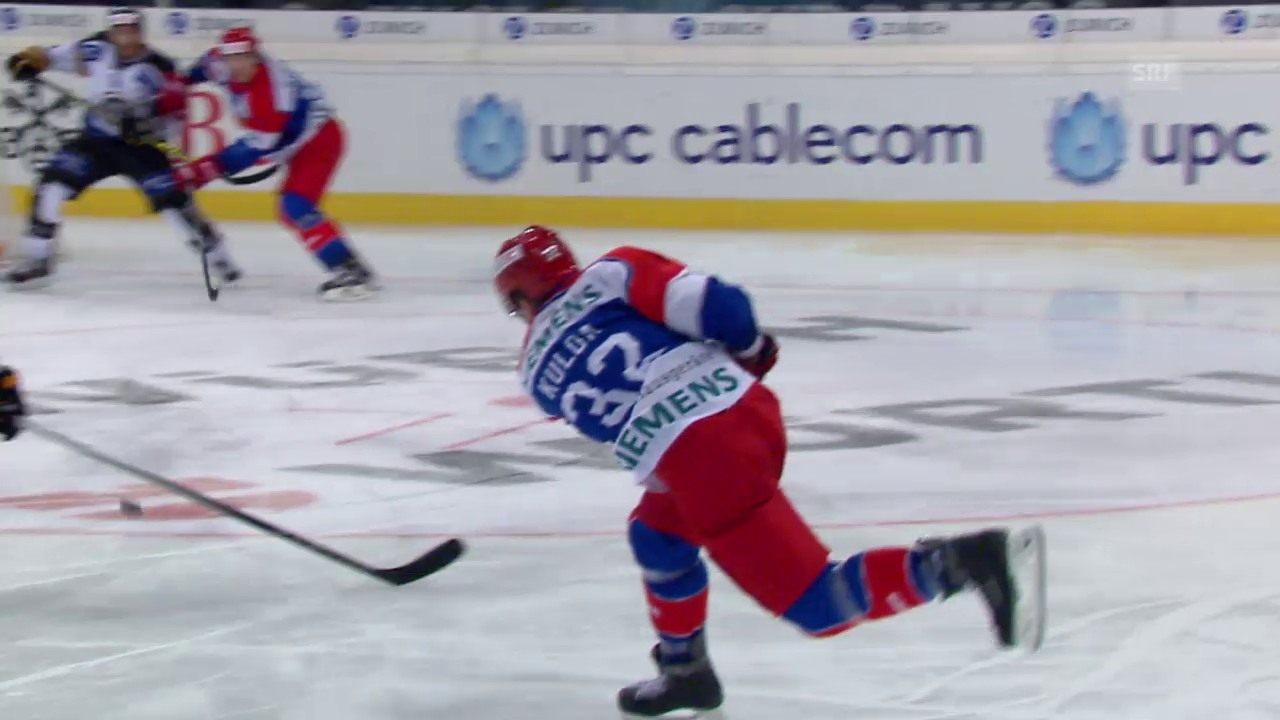 Eishockey: Spengler Cup 2015, Jokerit-Lugano, 5:4 Kulda