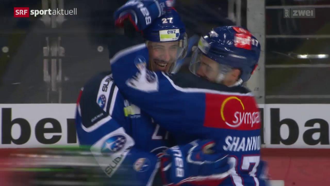 Eishockey: NLA, ZSC - Zug