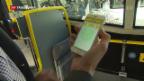 Video «Postauto testet elektronisches Billett» abspielen