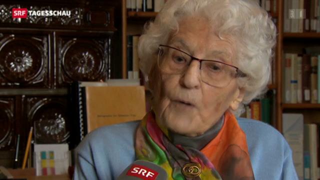 Marthe Gosteli: Vorkämpferin fürs Frauenstimmrecht