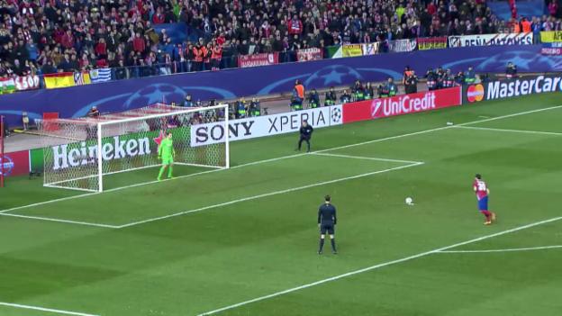 Video «16. Penalty bringt Entscheidung: Atletico im CL-Viertelfinal» abspielen