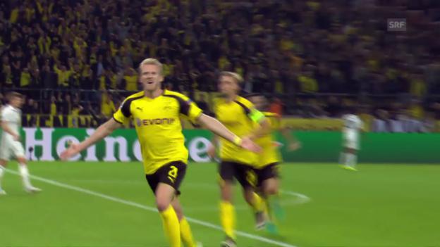 Video «Real muss gegen Dortmund Punkte abgeben» abspielen