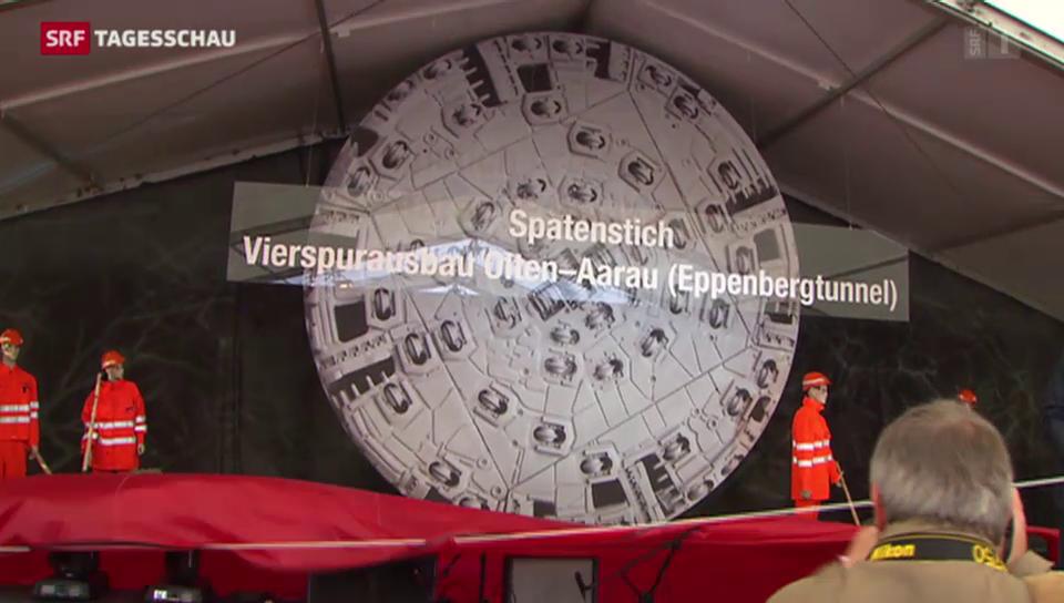 Ausbau des Eisenbahn-Nadelöhrs zwischen Aarau und Olten