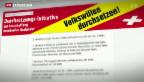 Video «Umsetzung der Ausschaffungsinitiative» abspielen