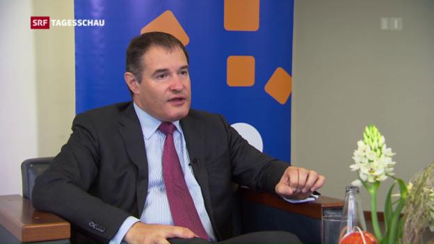 Video «Frontex-Direktor Fabrice Leggeri zur Lage im Mittelmeer» abspielen