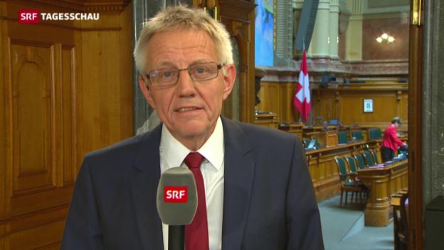 Video «Einschätzungen von Bundeshauskorrespondent Hanspeter Trütsch» abspielen