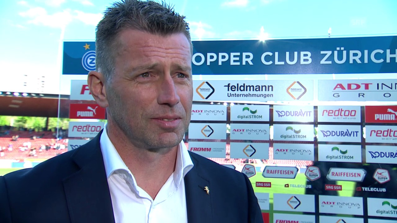 Fussball: Super League, 32. Runde, GC - YB, Interview mit Michael Skibbe