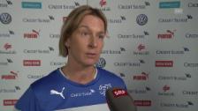 Video «Nati-Trainerin Martina Voss-Tecklenburg über Startgegner Niederlande» abspielen