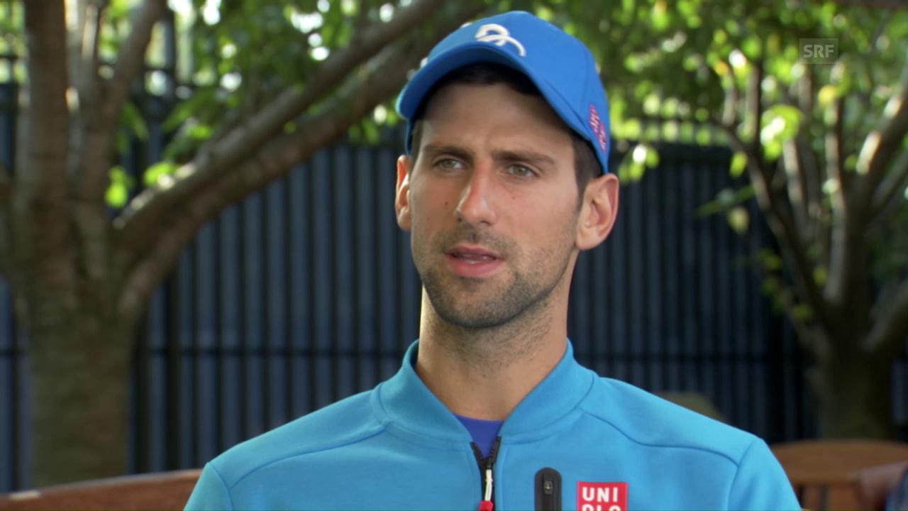 Djokovic: «Ich erwarte eine grosse Schlacht»