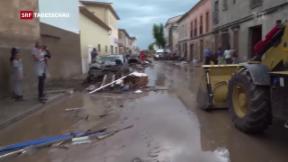 Video «Unwetter auf Mallorca» abspielen