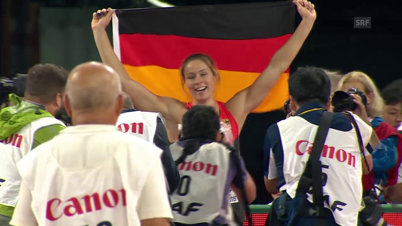 Leichtathletik: WM Peking, Final Speer Frauen