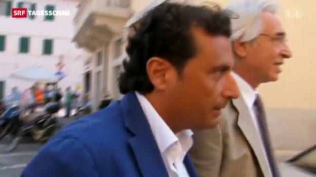 Video «Prozess gegen Kapitän der «Costa Concordia» bereits vertagt» abspielen