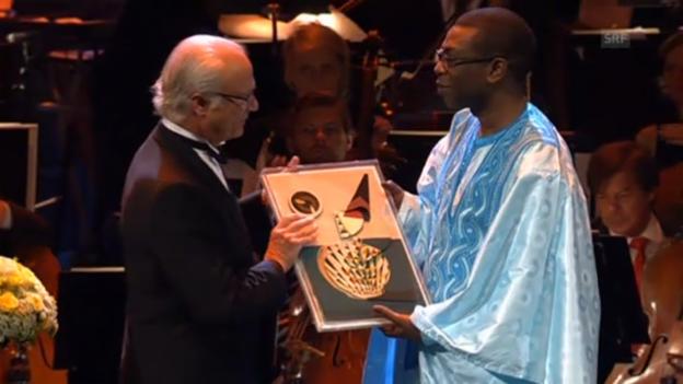 Video «Inoffizieller Musik-Nobelpreis für Youssou N`Dour» abspielen
